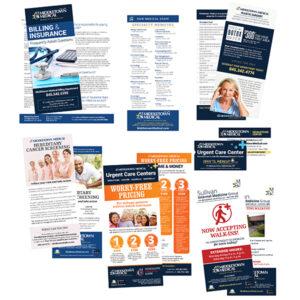 Middletown Medical Misc. rack cards
