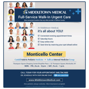 Middletown Medical Pancreatic Cancer newspaper ad