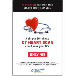 Middletown Medical CT Heart Scan poster