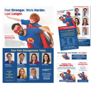 Middletown Medical pain management campaign
