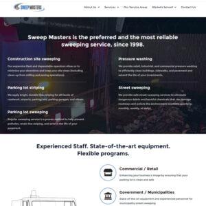 Sweep Masters Website