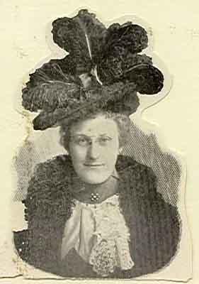 Bede E. Luckenback Worthy Grand Matron 1898 - 1899