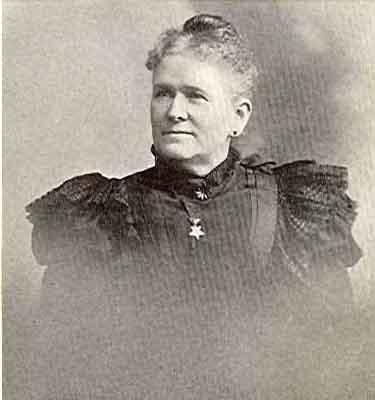 Mary E. Oliver Worthy Grand Matron 1899 - 1900
