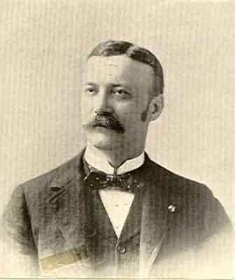 Philip C. Schaffer Worthy Grand Patron 1894 - 1895