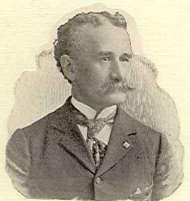 William H. Saunders Worthy Grand Patron 1896 - 1897