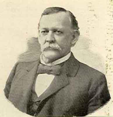 Sylvester N. Bradley Worthy Grand Patron 1898 - 1899