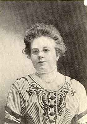 Bertha C. Kibler Worthy Grand Matron 1909 - 1910