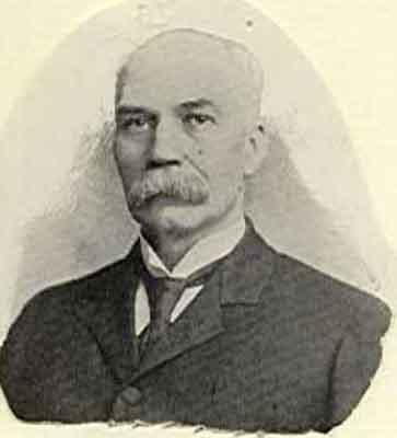 Frank L. Taylor Worthy Grand Patron 1901 - 1902