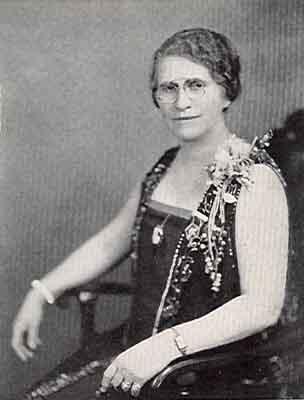 Jane M. Roberts Worthy Grand Matron 1928 - 1929