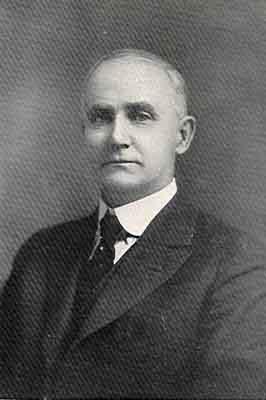 Milford H. McCoy Worthy Grand Patron 1921 - 1922