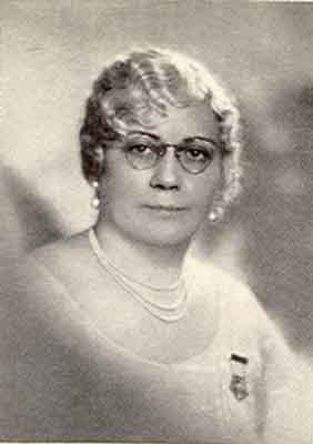 Carrie M. Criswell Worthy Grand Matron 1930 - 1931