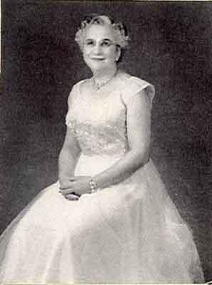Florentine E. Davidson Worthy Grand Matron 1955 - 1956