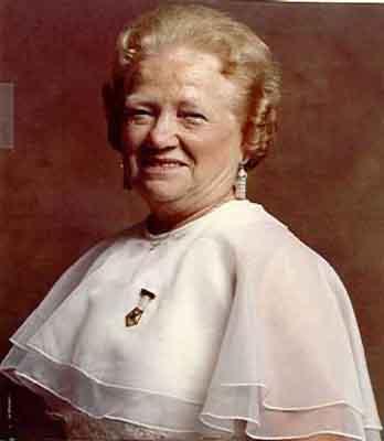 Carolyn R. Burkhardt Worthy Grand Matron 1981 - 1982