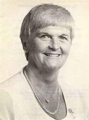 Betty L. MacAdam Worthy Grand Matron 1983 - 1984