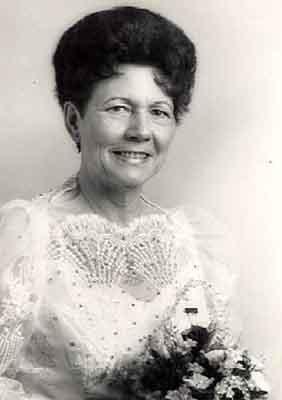 Evelyn Kostenbauder Worthy Grand Matron 1986 - 1987