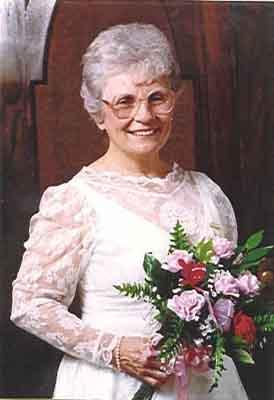 Louella C. Coons Worthy Grand Matron 1989 - 1990