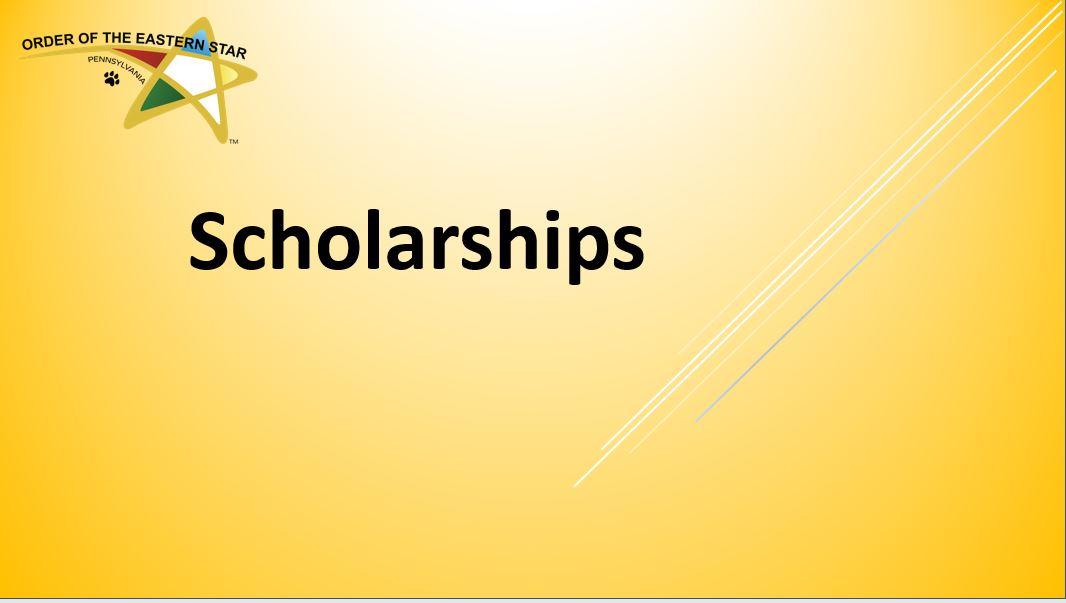 Ed Scholarship