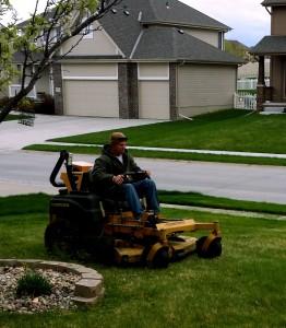 Lawn Mowing in Omaha by Nebraska Yard Care.