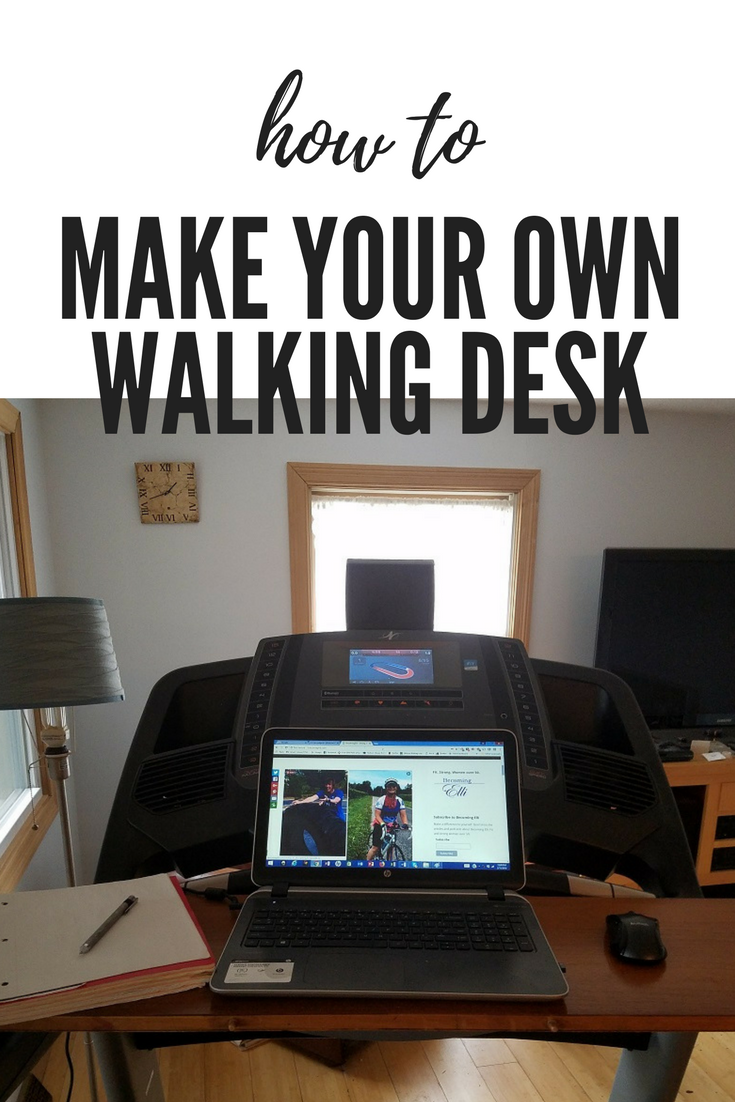 How to Make Your Own Walking Desk