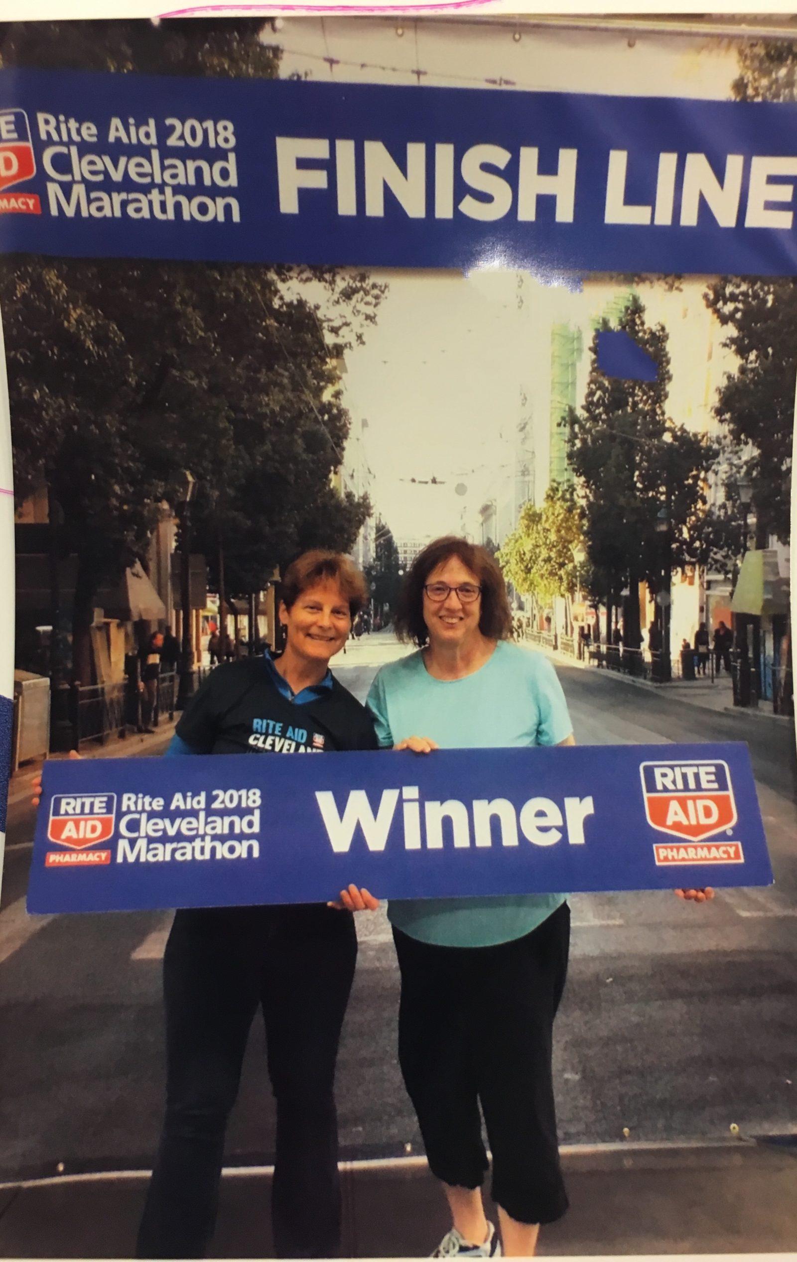 Cleveland half marathon anticipation - expo