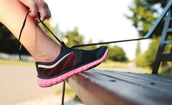running shoe Coming Back from an Injury