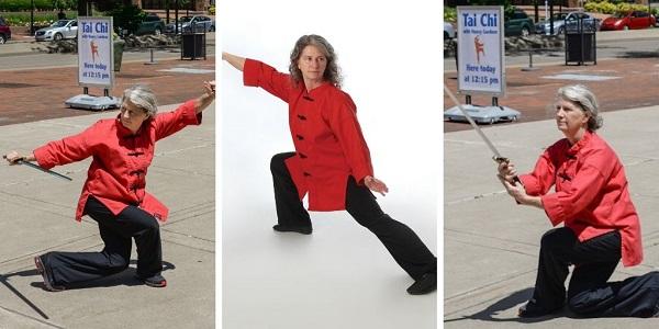 Certified instructor Nancy Gardner demonstrates