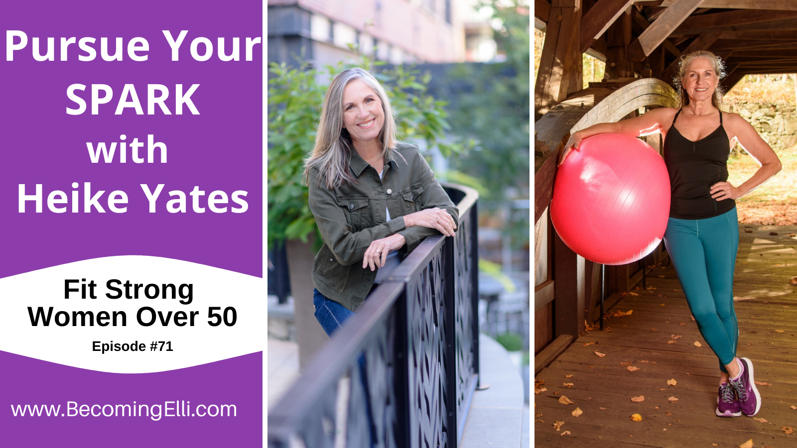 Pursue Your Spark with Heike Yates