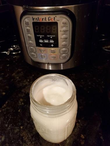 Coconut Yogurt in the Instant Pot