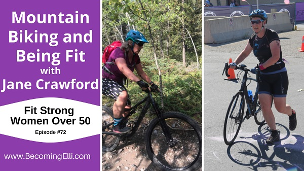Mountain Biking and Being Fit with Jane Crawford