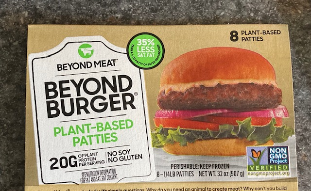 beyond burger review plant based patties