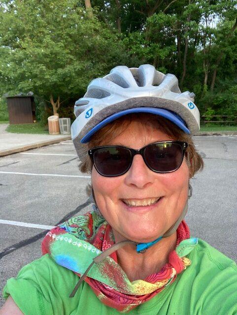 whystay fit loving a summer bike ride