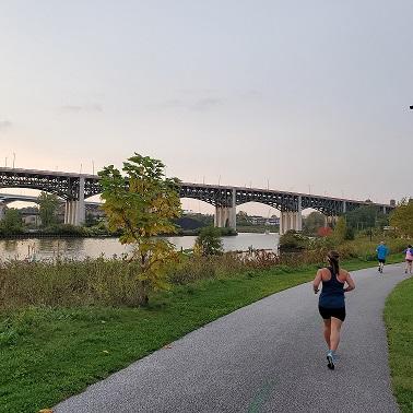 Towpath Half Marathon Race Recap