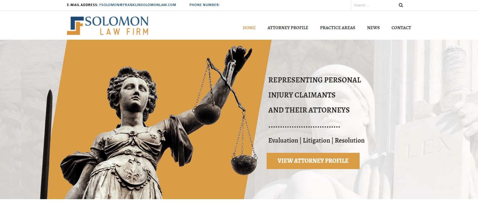 Solomon Law Firm – South Jersey Law Firm Representing Personal Injury Claimants and Their Attorneys2