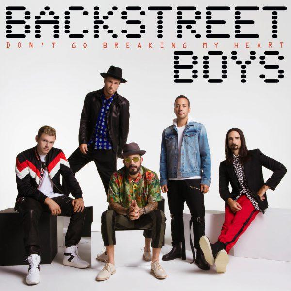 BACKSTREET BOYS 'Don't Go Breaking My Heart' (RCA)