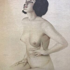 "Alberto Vargas "" Yearning"" pin-up nude Litho c. 1978 lmt ed Tale of Two Cities , Inc"
