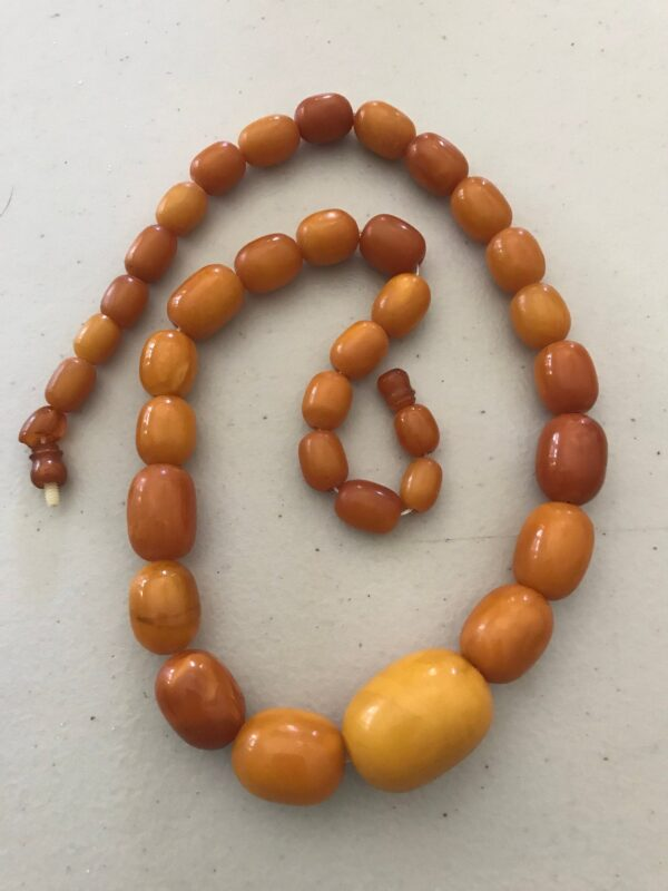 Antique Baltic Amber beads