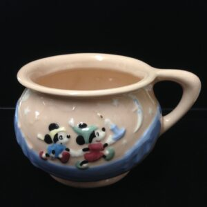1950's Rare Disney Metlox Ceramic Pink Chamber Potty - Evan K. Shaw, Rare Disney collectible given out to employees who were expecting.