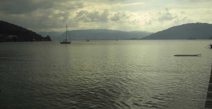 Австрия. Озеро Аттерзее.