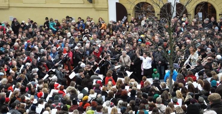 Прага перед Рождеством.
