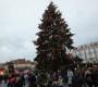 Староместская площадь в Праге. Рождественская ярммарка.