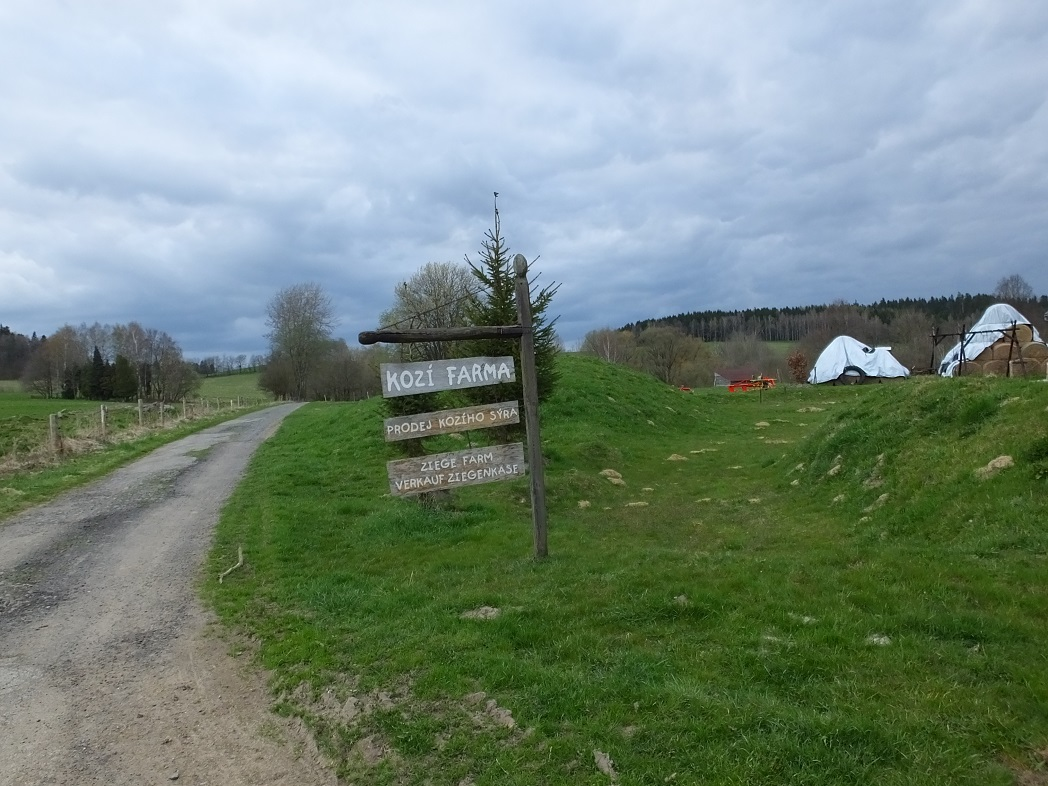 Весна на границе Германии и Чехии