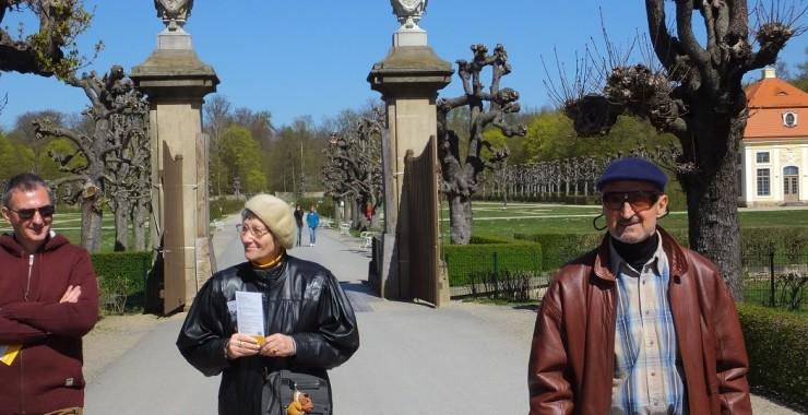 Юлия и Владимир в Морицбурге.
