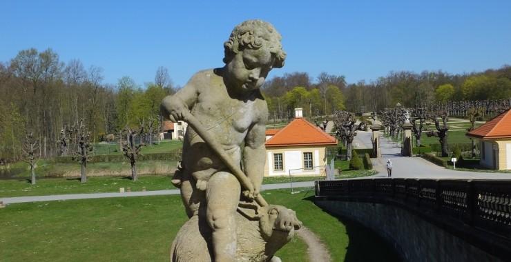 Замок Морицбург. Саксония.