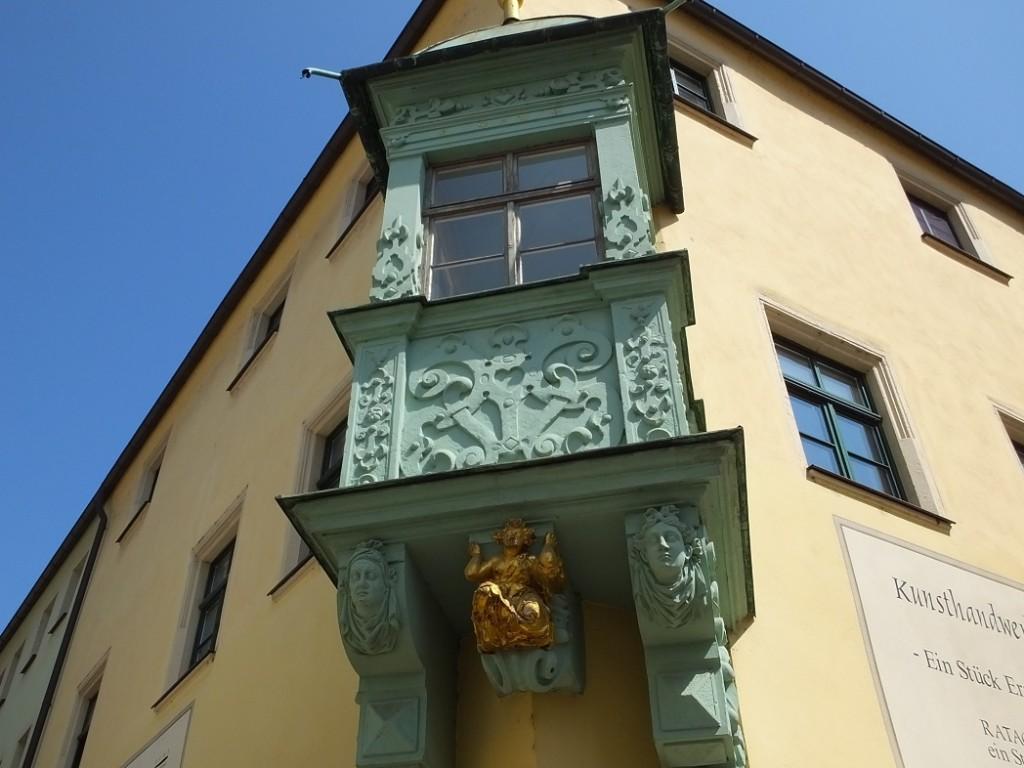 Дом с ангелом. Пирна. Саксония.