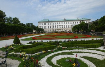 Дворец Мирабель. Зальцбург.