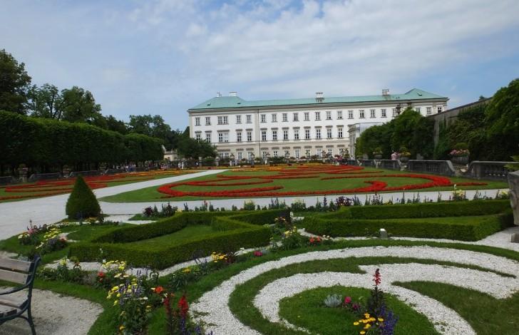 Зальцбург. Дворец Мирабель.