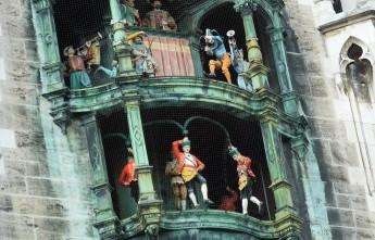 Новая ратуша. Мюнхен. Глокеншпиль.