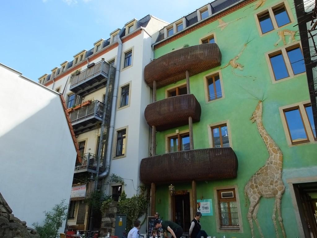 Дом животных. Дрезден. Германия. Тур Золотое сечение.