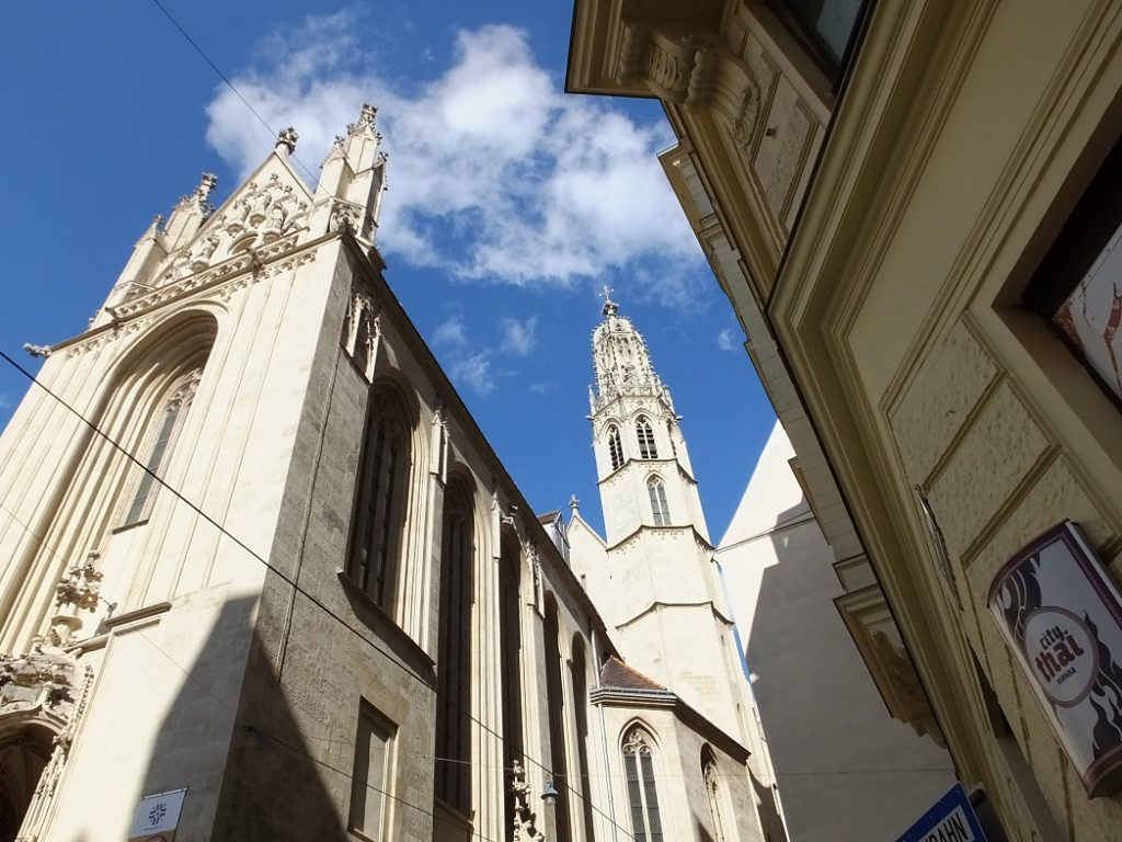Церковь Марии на берегу. Вена. Тур в Австрию и Моравию.