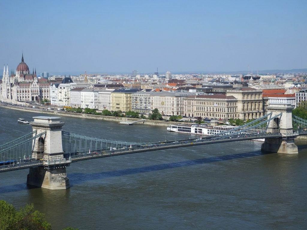 Мост Сечени. Будапешт.